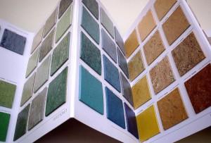 Linoleum - Vielfalt von Mustern