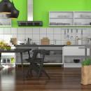 Fliesenboden ist kein Alleinherrscher mehr in der Küche